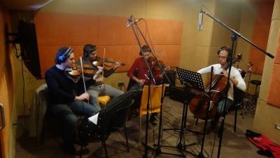 Nahla Mater Recording Session